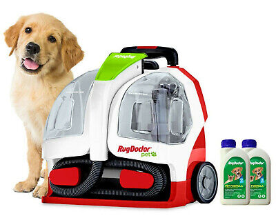 Rug Doctor Pet Portable Spot Cleaner With 2 X 500ml Pet Formula Cleaner • 278.89£