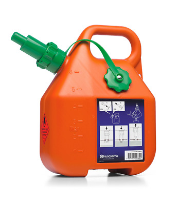 £23.90 • Buy 505698001 Original Husqvarna 6L Fuel Petrol Can Canister  Chainsaw Contenitore