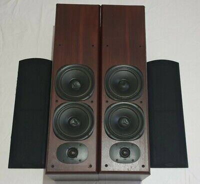 Jamo Cornet 175 Speakers Wood Casing Made In Denmark Please View Images WORKING • 149.95£