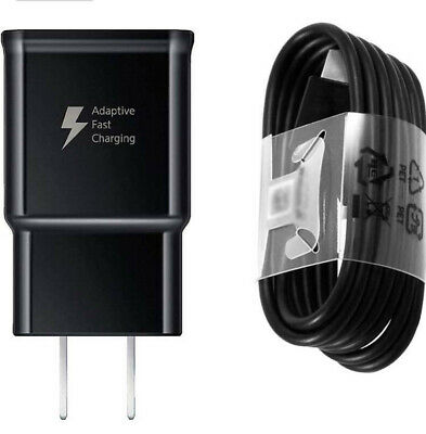 $ CDN17.99 • Buy  Samsung Fast Adaptive Charging (Wall Charger)+ USB C Cable S9/S8 Note 8/ G5/G6