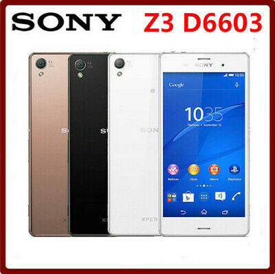 $ CDN117.32 • Buy Sony Xperia Z3 D6603 GSM 4G LTE Android Quad-Core 3GB+16GB (Unlocked) Smartphone