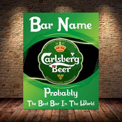 £6.07 • Buy Personalised FUNNY Bar Sign Metal Sign Man Cave Shed Garage Home Pub Cocktail