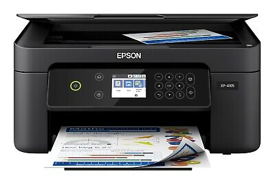 View Details Epson All-In-One Printer Machine Scanner Copier Wireless Office XP-4105 With INK • 88.00$