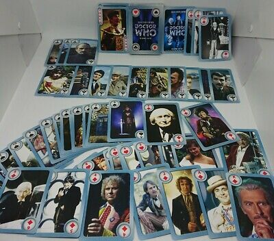 1996 BBC DOCTOR WHO Playing Cards Collector's Edition Complete  • 9£