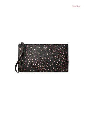 $ CDN73.16 • Buy Kate Spade Large Continental Bifold Wallet Wristlet Sylvia Meadow $148 NEW