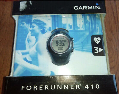 £162.07 • Buy New Garmin Forerunner 410 GPS-Enabled Sports Fitness Watch W/ Heart Rate Monitor