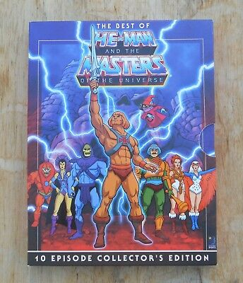 $9.99 • Buy The Best Of He-Man And The Masters Of The Universe - 10 Episodes (DVD)