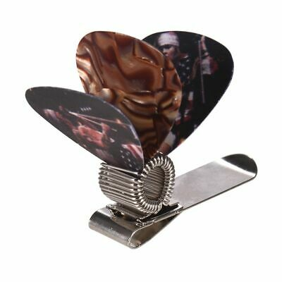$ CDN18.34 • Buy Guitar Picks Holder Clip Strap Metal 3pcs Metal Durable Lightweight Convenient