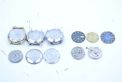 $ CDN43.85 • Buy Lot Of Vintage Seiko And Citizen Dial And Watch Cases Caseback Movements