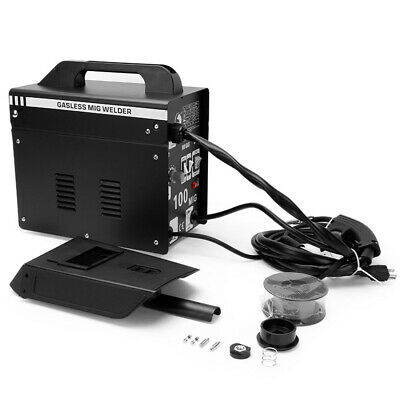 Portable Gasless MIG Welder 100 Amp Auto Flux Wire Feed Welding Machine 240V Kit • 99.99£