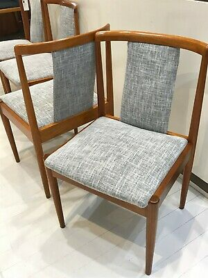 AU2400 • Buy PARKER T/Back Dining Chairs X6 - MID-CENTURY- FULLY RESTORED