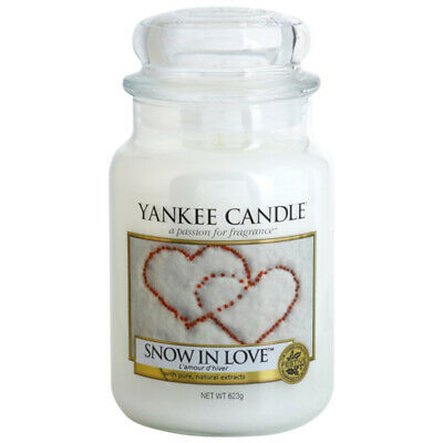 Yankee Candle Snow In Love Large Jar Candle • 23.99£