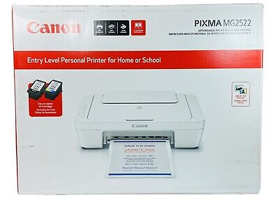 View Details Canon Pixma MG2522 All-in-1 Printer, Scanner & Copier Color / Black Ink  • 75.90$