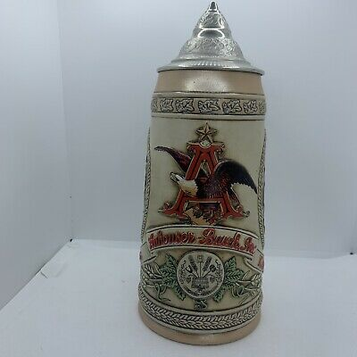 $ CDN19.35 • Buy Budweiser Lidded Beer Stein Limited Edition V  M  Series Anheuser-Busch