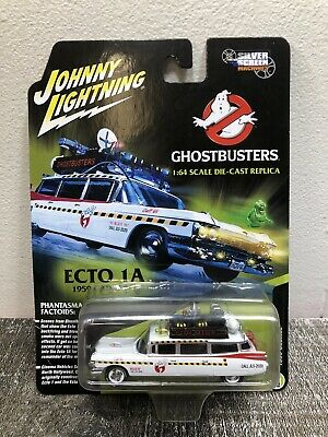 Ghostbusters 1959 Cadillac Ecto-1A Diecast Car 1:64 Johnny Lightning NEW • 14.46£