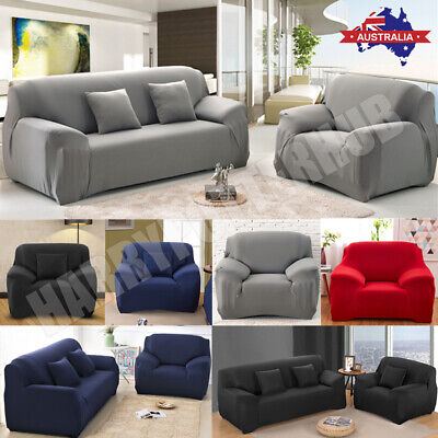 AU24.69 • Buy 1 2 3 4Seater Stretch Sofa Cover Couch Lounge Recliner Chair Slipcover Protector