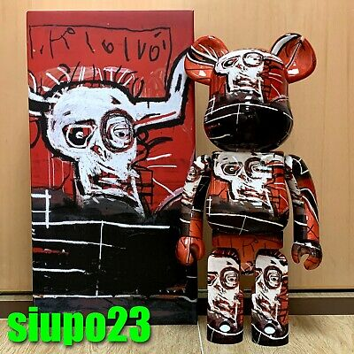 $999.99 • Buy Medicom 1000% Bearbrick ~ Jean-Michel Basquiat 05 Be@rbrick