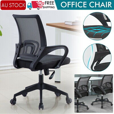 AU59.50 • Buy Office Chair Gaming Chair Computer Mesh Chairs Work Executive Seating Study Seat