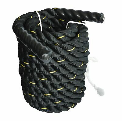 AU163.35 • Buy Battle Rope Dia 3.8cm X 9M Length Poly Exercise Workout Strength Training