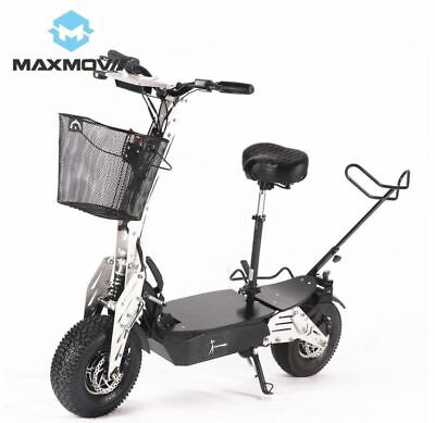 £1627.67 • Buy Maxmov 1000-2000w Two Wheel Folding Electric Off Road Golf Cart Scooter Vehicle
