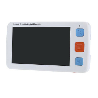 5.0inch Electronic Digital Flexible Video Magnifier 4-32X Reading Aid Adjustable • 97.52£