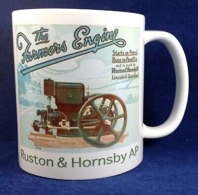 Ruston & Hornsby AP Stationary Engine Mug Ideal For Rallies Meetups Caravan Etc • 5.99£