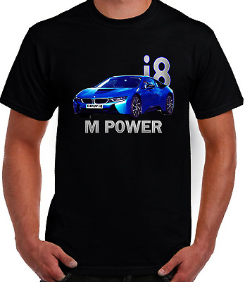 AUTOTEE FAN BMW I8M RENDERING RETRO COOL GRAPHIC ART DESİGN HIGH QUALITY T SHIRT • 14.49£