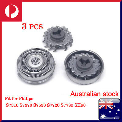 AU28.99 • Buy 3pcs SH70 Shaver Heads Replacement Blades For Philips Norelco 7000 Series Razor