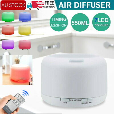 AU23.94 • Buy Aromatherapy Air Purifier Aroma Diffuser Ultrasonic Led Essential Oil Humidifier