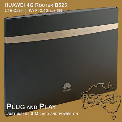 AU199 • Buy Huawei 4g Router Unlocked B525 Lte Cat6 Wi-fi 2.4g And 5g  Plug And Play