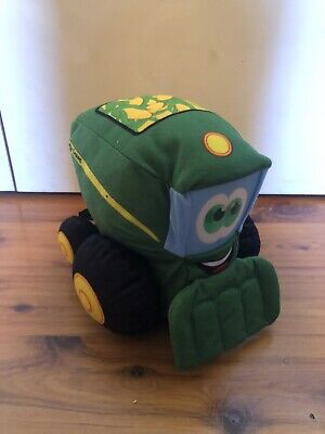 AU15 • Buy John Deere Plush Johnny Tractor And Friends - Corey Combine - Tomy Plush Toy