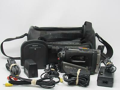 $ CDN229.65 • Buy SONY CCD-TRV65 Camcorder Hi8 8mm W/ Charger& Extras Tested! Free Shipping!