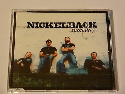 Nickelback Someday Rare Uk 3 Track Cd Single, Excellent Cond (2003) • 1.99£