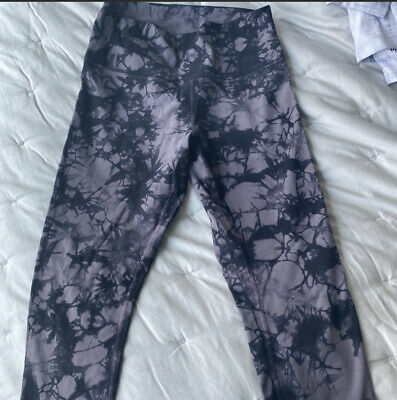 $ CDN95.69 • Buy Lululemon Shibori Tie-Dye Wunder Under Leggings Size 8
