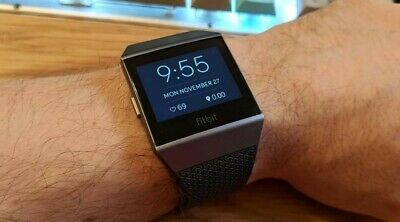AU230 • Buy Fitbit Ionic Smart Fitness Watch With FREE Black Straps Heart Rate Wellness