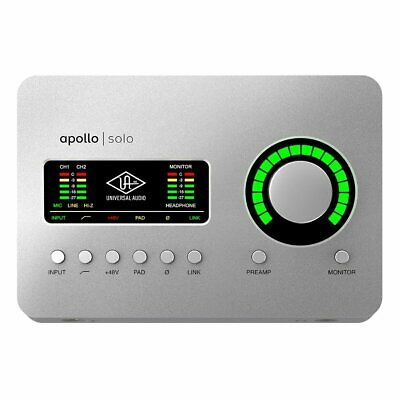AU879 • Buy Universal Audio Apollo Solo USB 2/2 Digital Interface