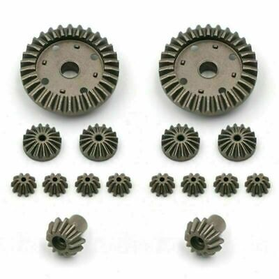 $ CDN18.89 • Buy For WLtoys 12423 12428 Durable Metal Rear Replacement Gear Kit Part