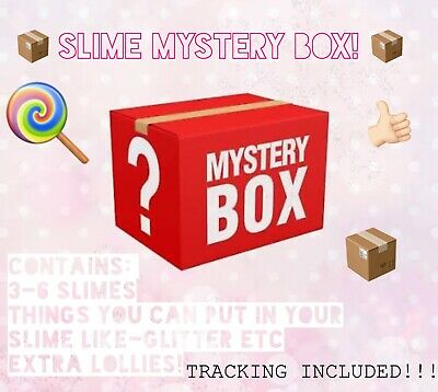 AU65 • Buy Super Fun Slime Box Contains 6+ Slimes Plus Additional Decorations To Add