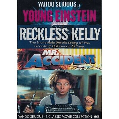 Young Einstein - Reckless Kelly - Mr Accident - Yahoo Serious DVD  • 11.06£