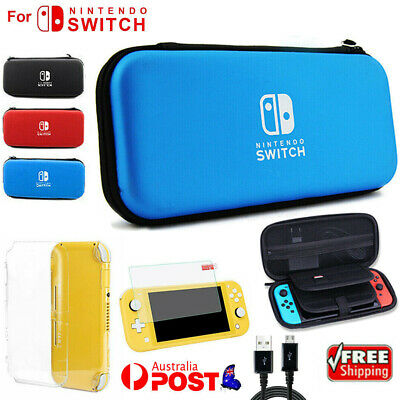 AU22.99 • Buy 6-IN-1 For Nintendo Switch Lite Carrying Case Bag+Shell Cover+Glass Protector AU