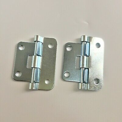 $ CDN7.88 • Buy 2 Zinc Plated 2 1/4   Take Apart Hinge For Guitar Pedal Board D.J Turntable Case