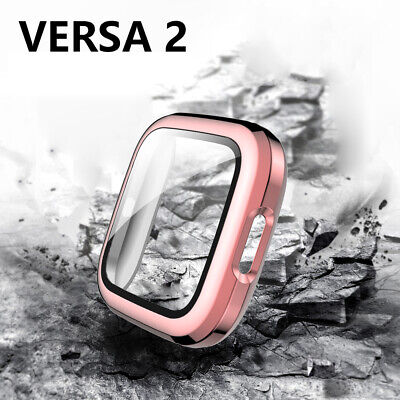 $ CDN9.06 • Buy Screen Protector 9H Tempered Glass Watch Case For Fitbit Versa 2 SmartWatch