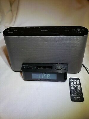 AU39.34 • Buy Sony Dream Machine ICF-CS10iP Alarm Clock AM/FM Stereo Radio W/ IPod IPhone Dock