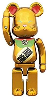 $273 • Buy MANEKINEKO Lucky Cat BE@RBRICK 200% Gold Bearbrick Medicom Toy