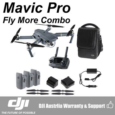 AU1599 • Buy DJI Mavic Pro 4K UHD Mini Drone With Controller Fly More Combo Kit CP.PT.000643
