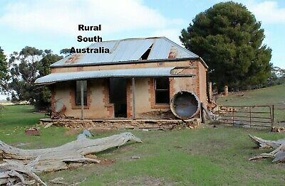 AU36 • Buy 5D 3D Diamond Beading Painting Ruins Of A Settlers Hut House Full Drill 30 X 40