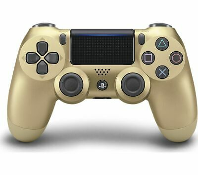 SONY DualShock 4 V2 Wireless Game Controller PS4 Gamepad Gold - Currys • 39.99£