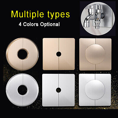 Wall Hole ABS Plastic Cable Hole Cover Round Wire Tidy Grommet Decorative Cover • 3.05£
