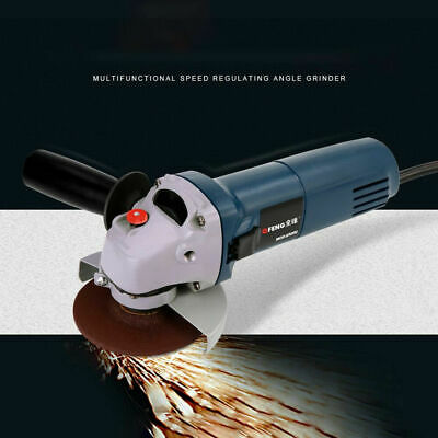Pro Angle Grinder Electric Variable Speed 4  Electric Grinder Wheel Cut Kits • 42.88£