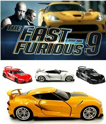 AU34.95 • Buy 1:32 Fast And Furious 9 Toyota Ft-1 Concept Car Diecast Model Collection Toy